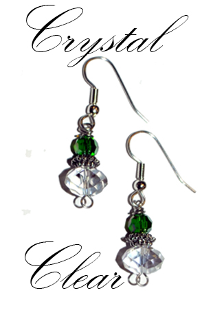 Crystal Clear - Earrings