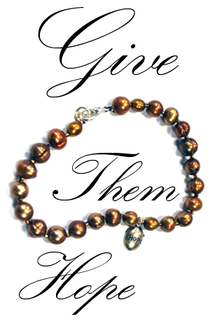 Give them Hope-Pearl Bracelet